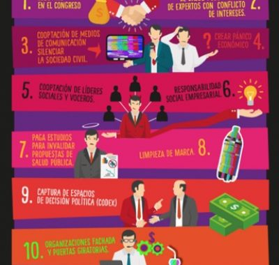 infografia 10 pecados de interferencia